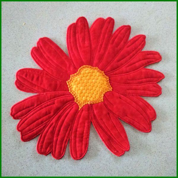 LargeFlower-PES.zip K.H.} Applique - Free machine embroidery designs ...