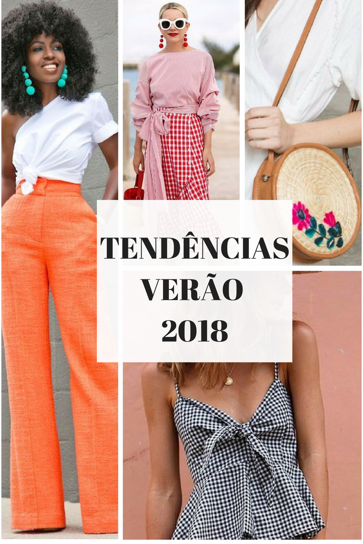 bd7a2c504f3 Tendências de moda para primavera verão 2018. O que usar no próximo verão.  como usar estampa vichy