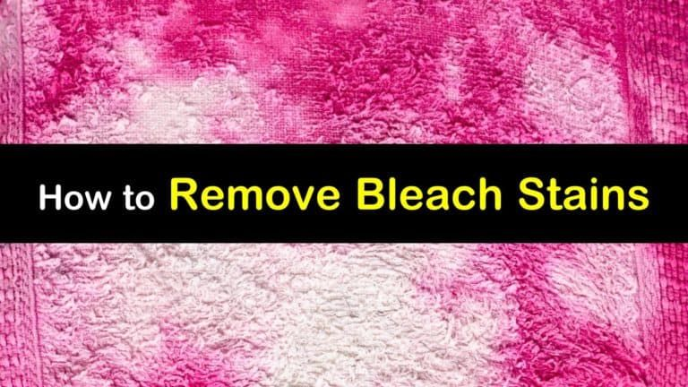 3 quick easy ways to remove bleach stains remove