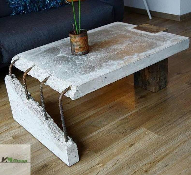 Concrete Slab Coffee Table Atbge Coffee Table Design Coffee