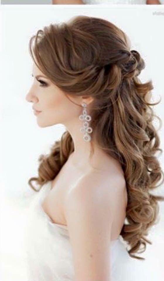 Peinado de una novia