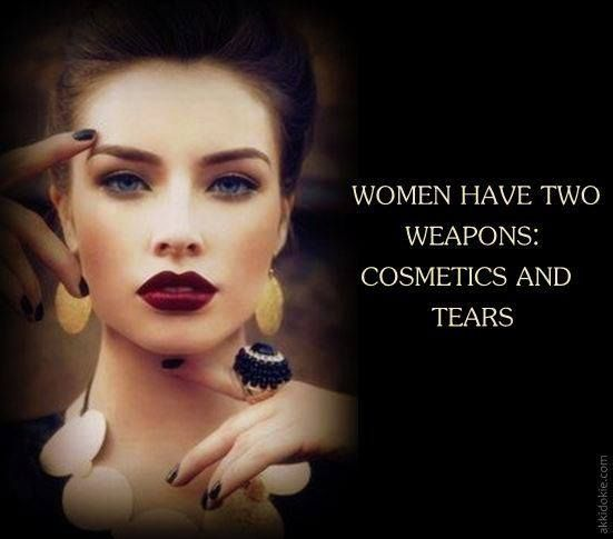 Learn to use them wisely, ladies! ;)  #Quote #Beauty