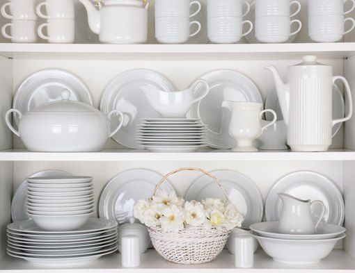 How To Arrange Dishes In A China Cabinet China Cabinet