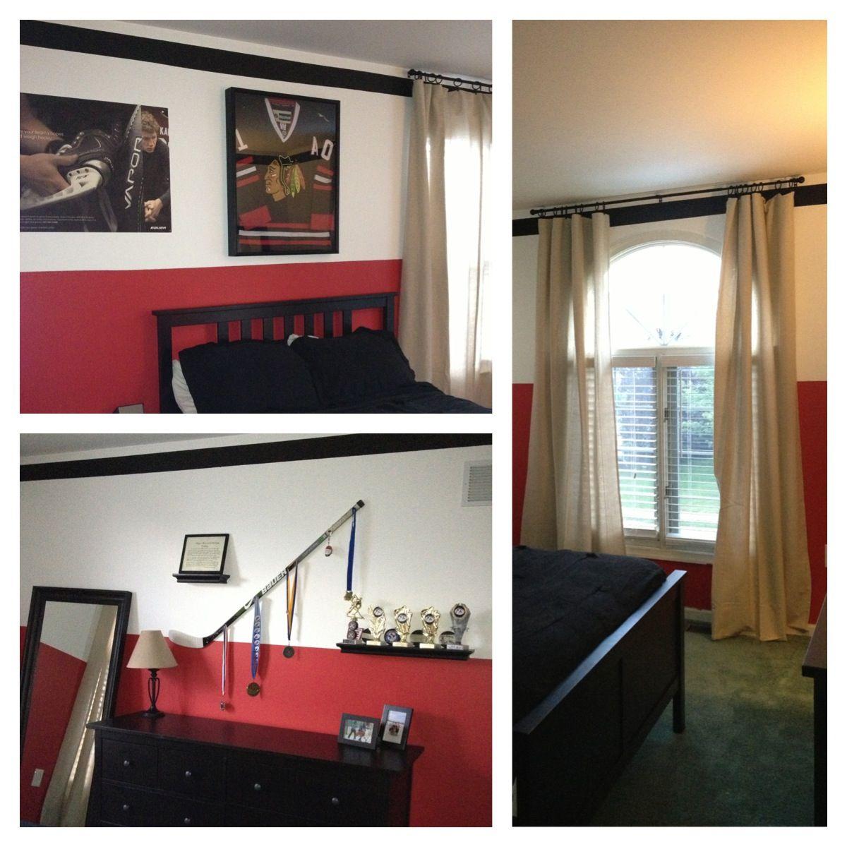 Boys hockey bedroom ideas - Hockey Bedroom Hockey Bedroomhockey Stuffroom Decorationsboy