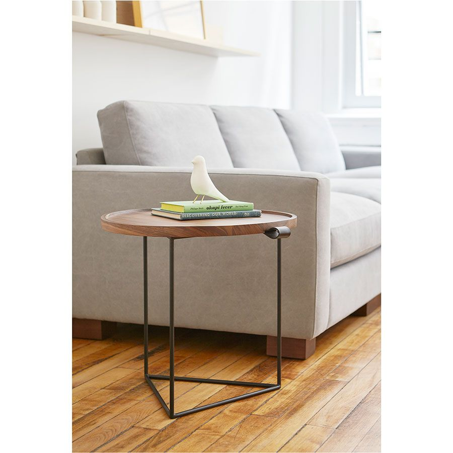 Gus Modern Porter Modern End Table With Aubrey Parkdale Sofa Modern Accent Tables End Tables Contemporary Furniture [ 900 x 900 Pixel ]