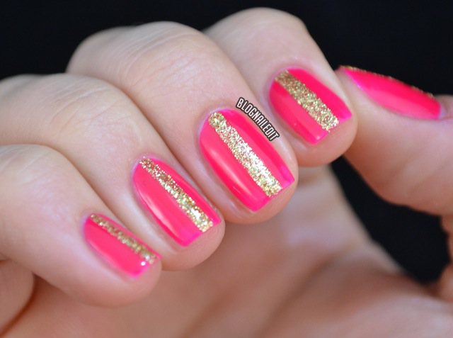 Nailed It: Color Society - Ruby Wing Color Changing Polish - Pink & Gold