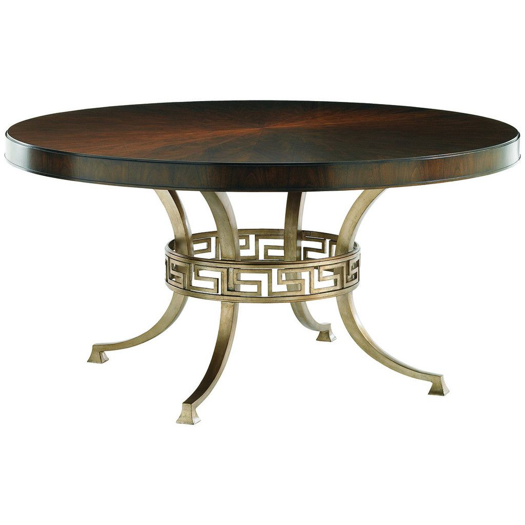 Lexington Tower Place Regis Round Dining Table | Recibo y Mesas