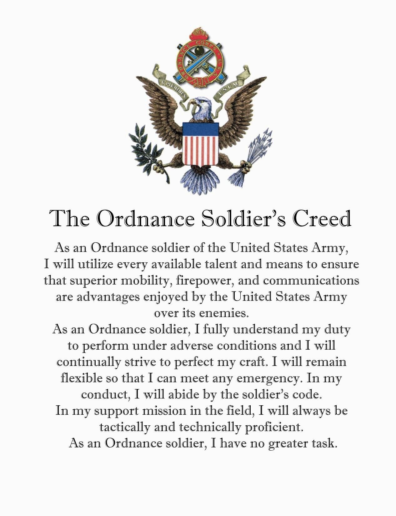 The NCO Creed.. what does it mean to you? How do you interpret it? Do you live by it as an NCO?