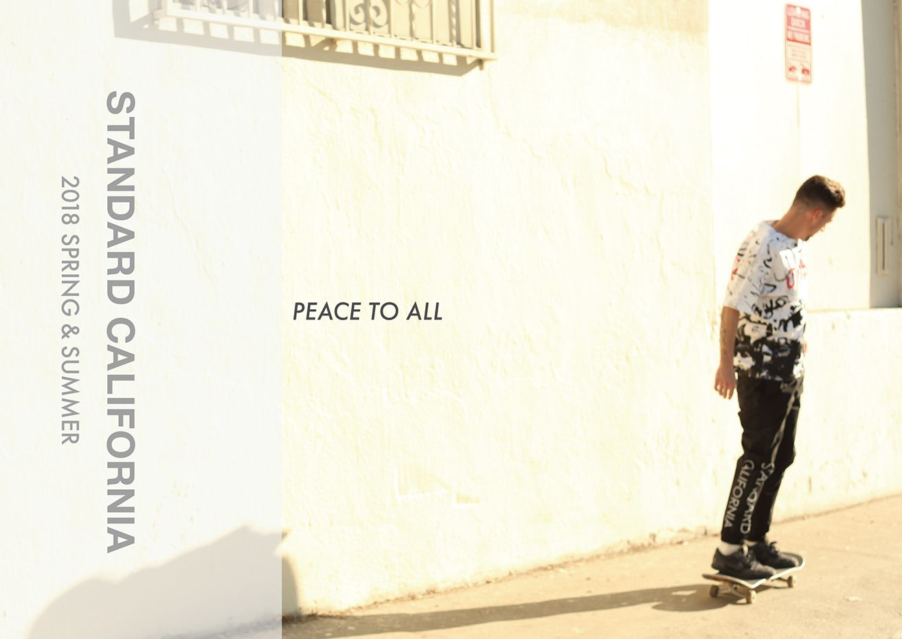 peace to all.  #standardcalifornia #スタンダードカリフォルニア #california #恵比寿 #peacetoall #18SS
