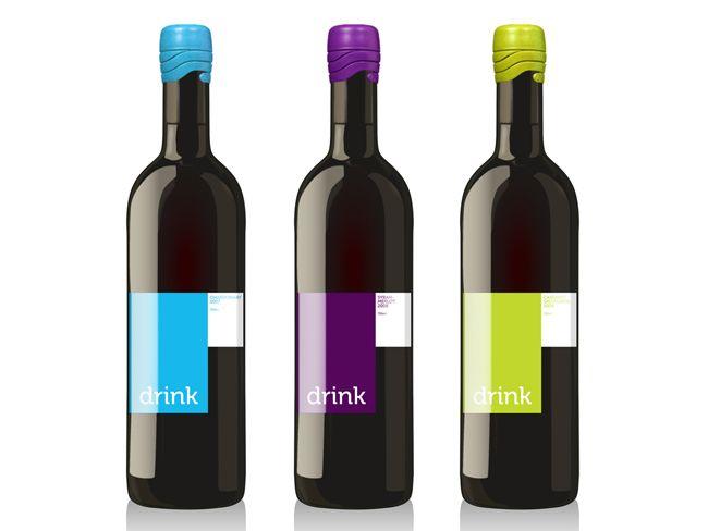 Drink Wine Label (Concept)