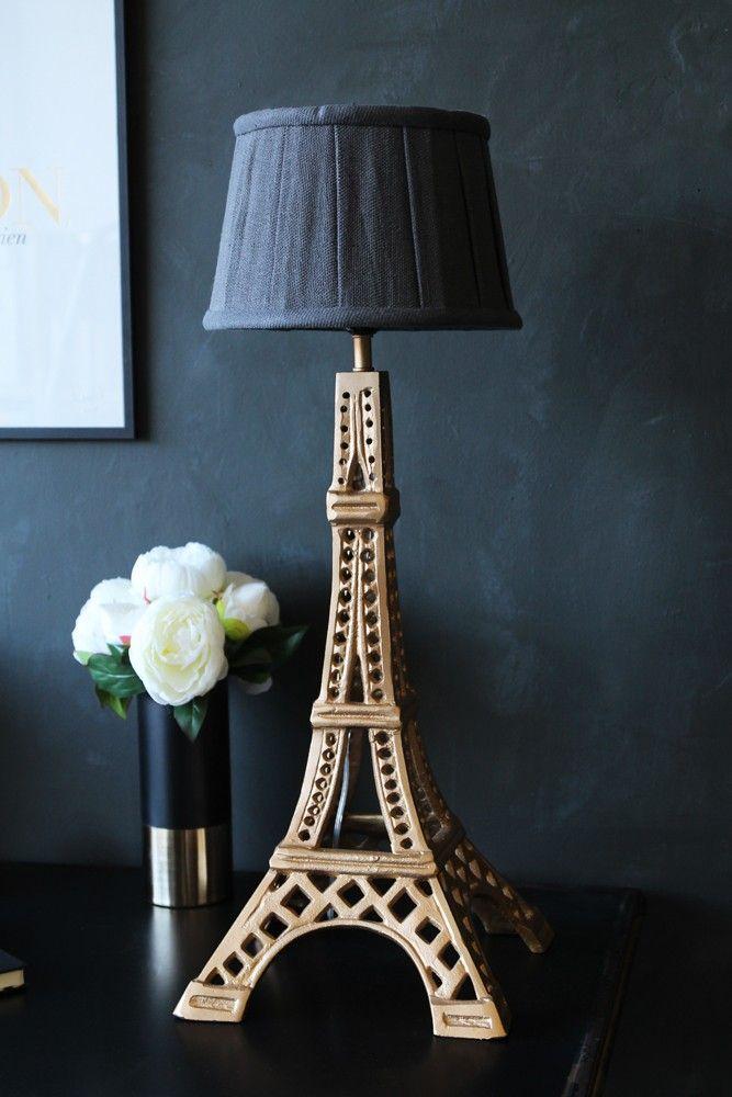 Elegant Metal Eiffel Tower Table Lamp   Table Lamps   Lighting