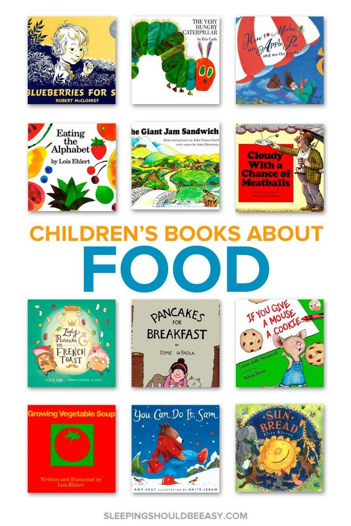 Children's Books about Food #kidsnutrition