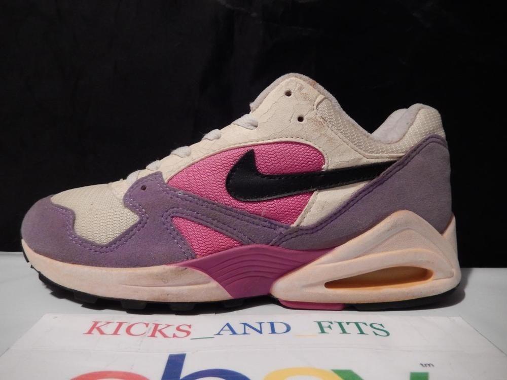 los angeles e913d b0fb3 VTG OG 1993 Nike Air Max Tailwind 105019 sz 9 Iris Fire Pink wBox 97 95 DS  one Nike RunningCrossTraining