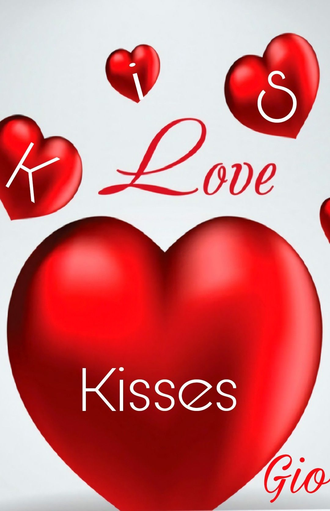 Kisses To All My Friend In Picsart Love Gio Kisses Heart