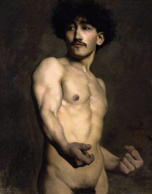 For 19th century nude men mine very
