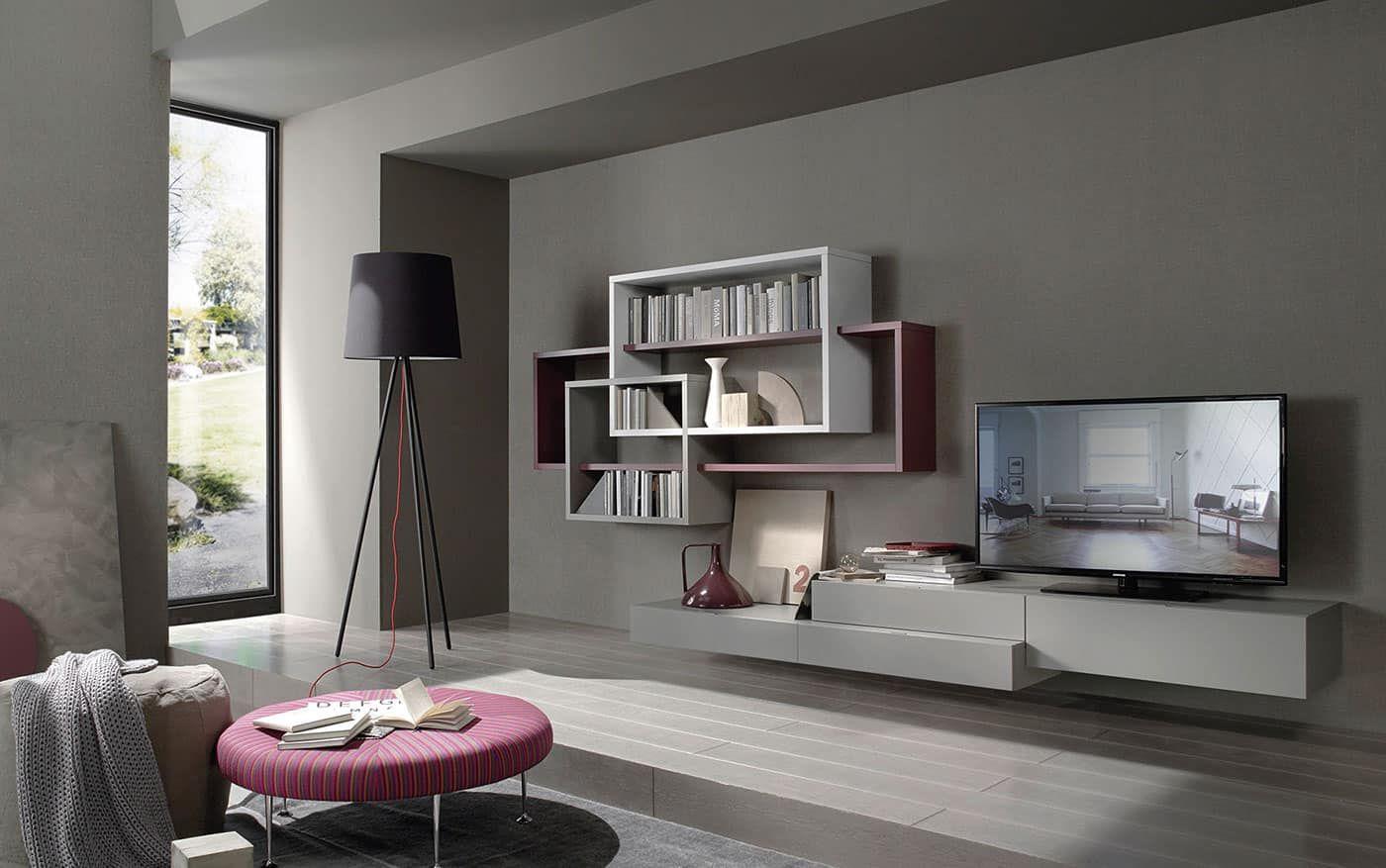 Wohnwand Lampo L5c59 Wohnzimmer Modern Wohnzimmer Einrichten Wohnen