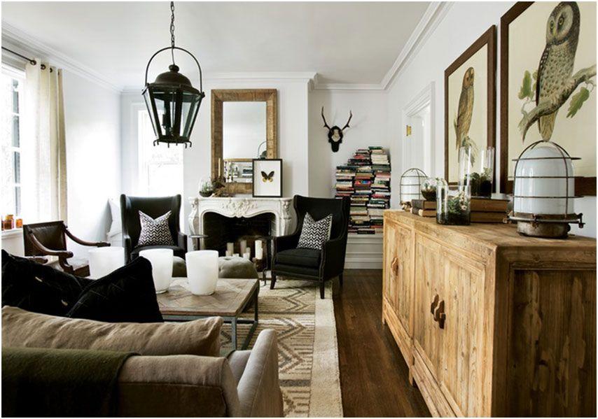 Family Modern Farmhouse Living Room
