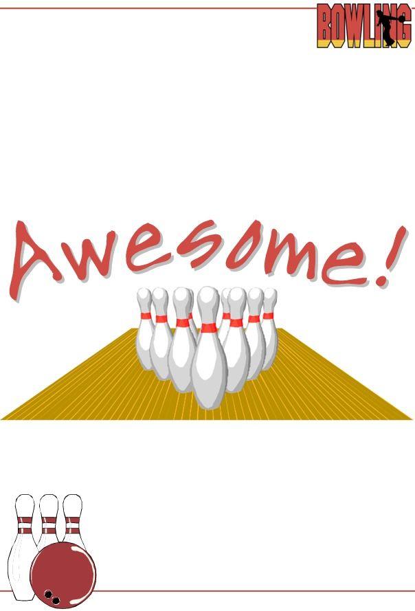123Certificates.com!   kindergarten   Pinterest   Bowling and ...