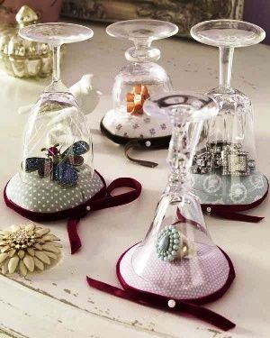 Craft show display ideas cool examples and tips craft maker diy jewelry display glasses pillows now thats what i call unique use wine glasses solutioingenieria Images