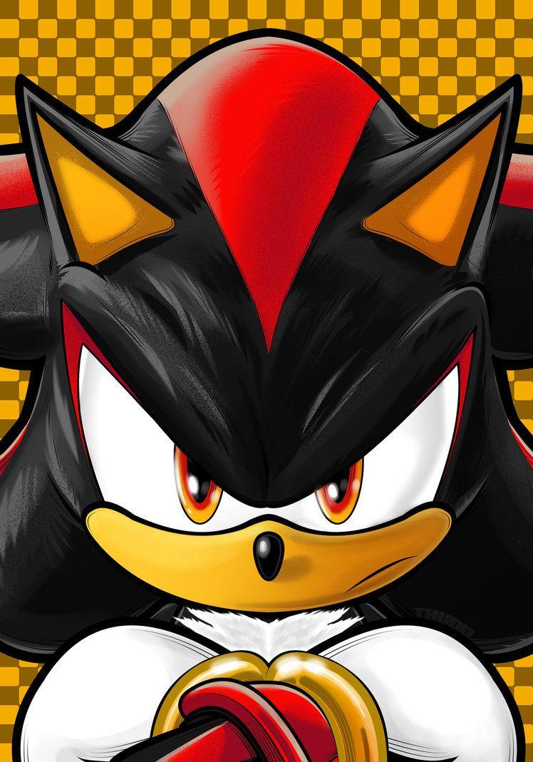 Shadow By Thuddleston Hedgehog Art Sonic And Shadow Shadow The Hedgehog
