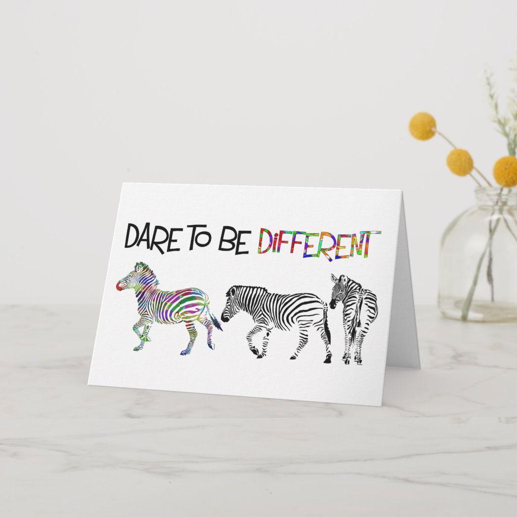 Zebra Studies Birthday Card Zazzle Com Birthday Cards
