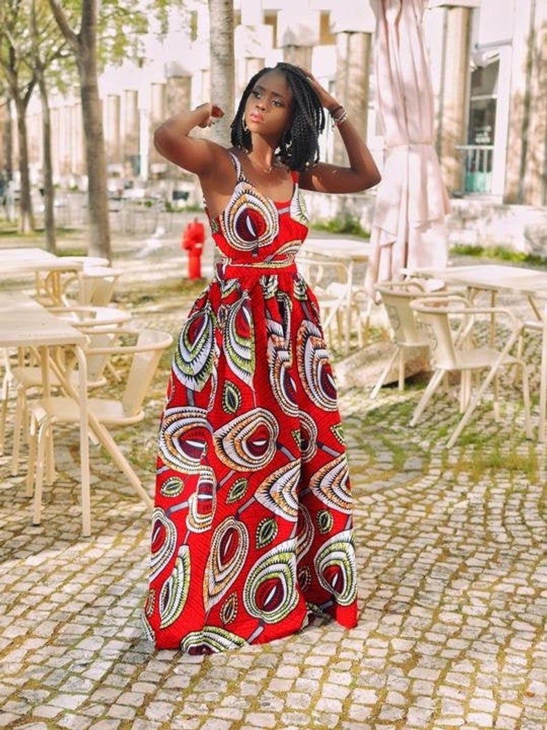 45 Fashionable African Dresses Of 2020 Ankara Dresses Of The Year African Prom Dresses African Dress African Fashion Dresses