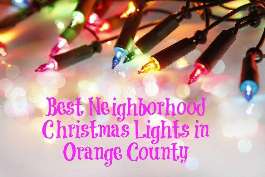 The Best Orange County Christmas Lights Christmas Lights Hanging Christmas Lights Christmas Display