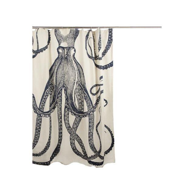 Thomas Paul Bath Cotton Octopus Shower Curtain Reviews