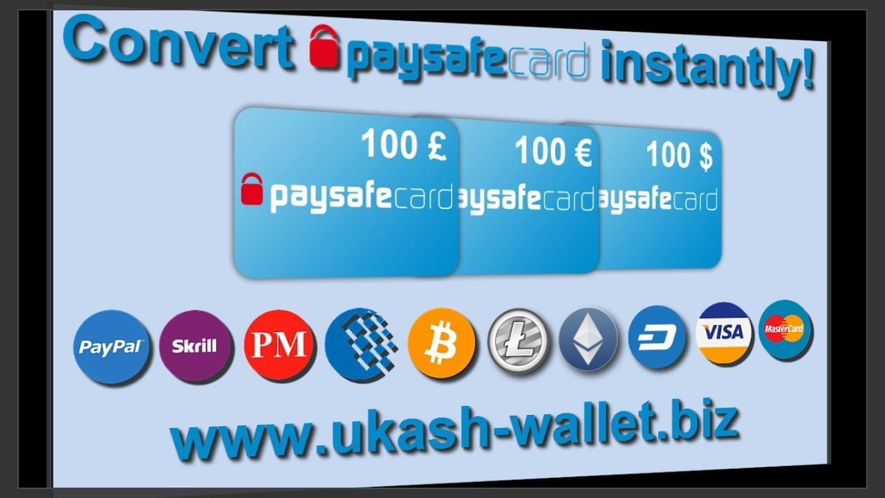 Convert Paysafecard For Paypal Skrill Webmoney Bitcoin Ethereum Mas In 2020 Perfect Money Bitcoin Paypal