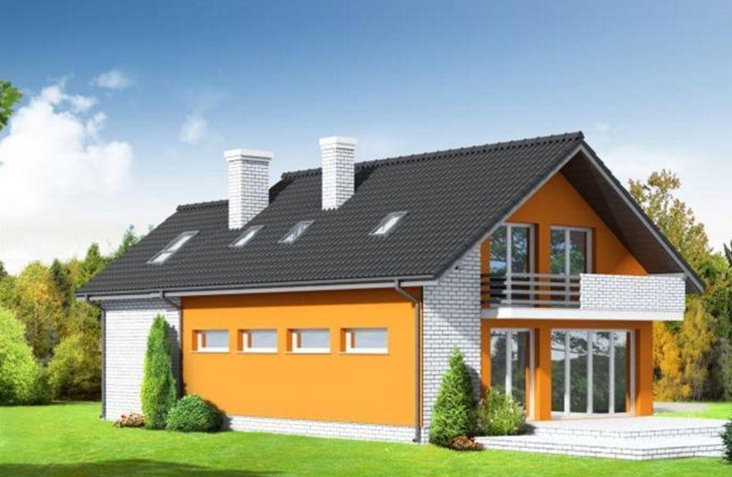 Casa clásica de tejas negras | Casas | Pinterest | Planos de casas ...