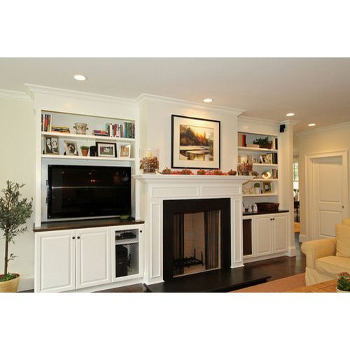 family room built in traditional family room boston hawthorn builders