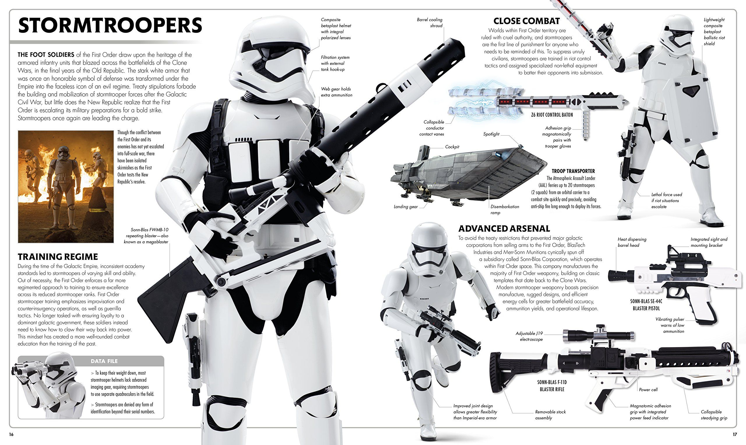 Star Wars The Force Awakens Visual Dictionary Stormtroopers S