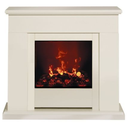 Dimplex Optimyst Freestanding Electric Fire Suite: Image 1