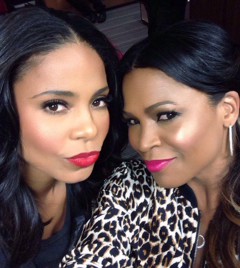 Kiss Makeup Looks: Sanaa Lathan And Nia Long