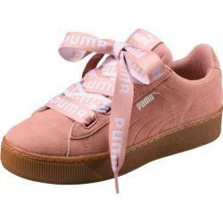 Puma Damen Sneaker Vikky Platform Ribbon Bold, Größe 40 in Rosa, Größe 40 in Rosa Puma #scarpedaginnasticadauomo