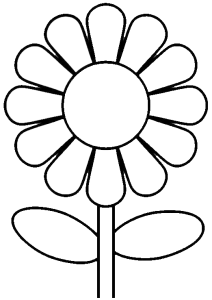 999 Flower Clipart Black And White Free Download Cloud Clipart Manualidades Con Hojas De Colores Hojas Para Colorear Paginas Para Colorear De Flores
