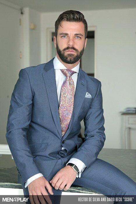 Hector de Silva | Shirt & Tie & Two Piece Suits | Pinterest | Men ...
