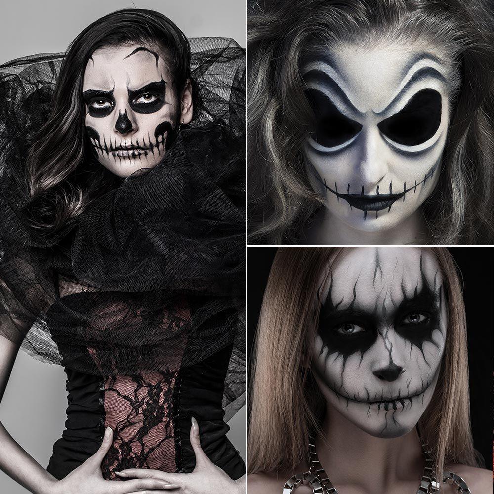 Costumi Halloween Idee.Halloween 1000 Immagini Idee Costumi Make Up Trucco Per Halloween Trucco Horror Trucco Di Halloween Spaventoso