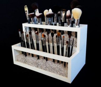 Makeup Organization Vanity Brush Holders Make Up 18 Trendy Ideas images