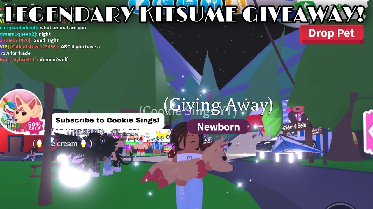 ADOPT ME KITSUME GIVEAWAY//Roblox Adopt Me in 2020 What