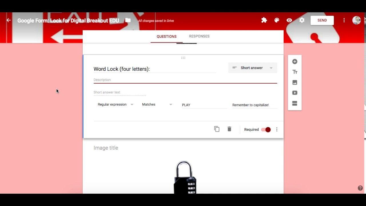 Creating Digital Breakout Edu Locks W Google Forms Breakout Edu