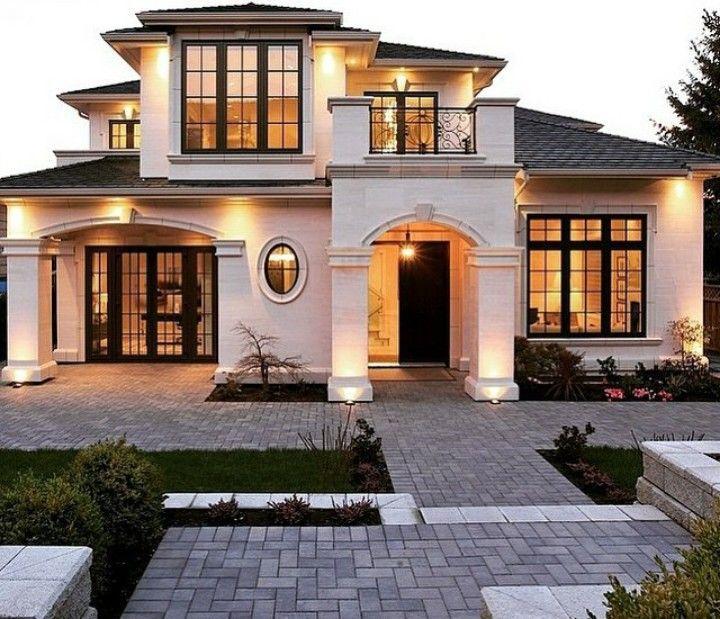 Casa estilo mediterr neo casas pinterest casa - Casas con estilo moderno ...