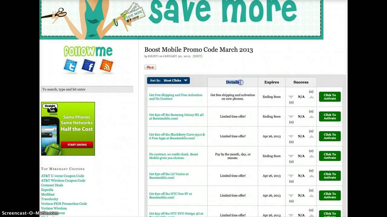80% Off Boost Mobile Coupons & Promo Codes + 8% Cash Back