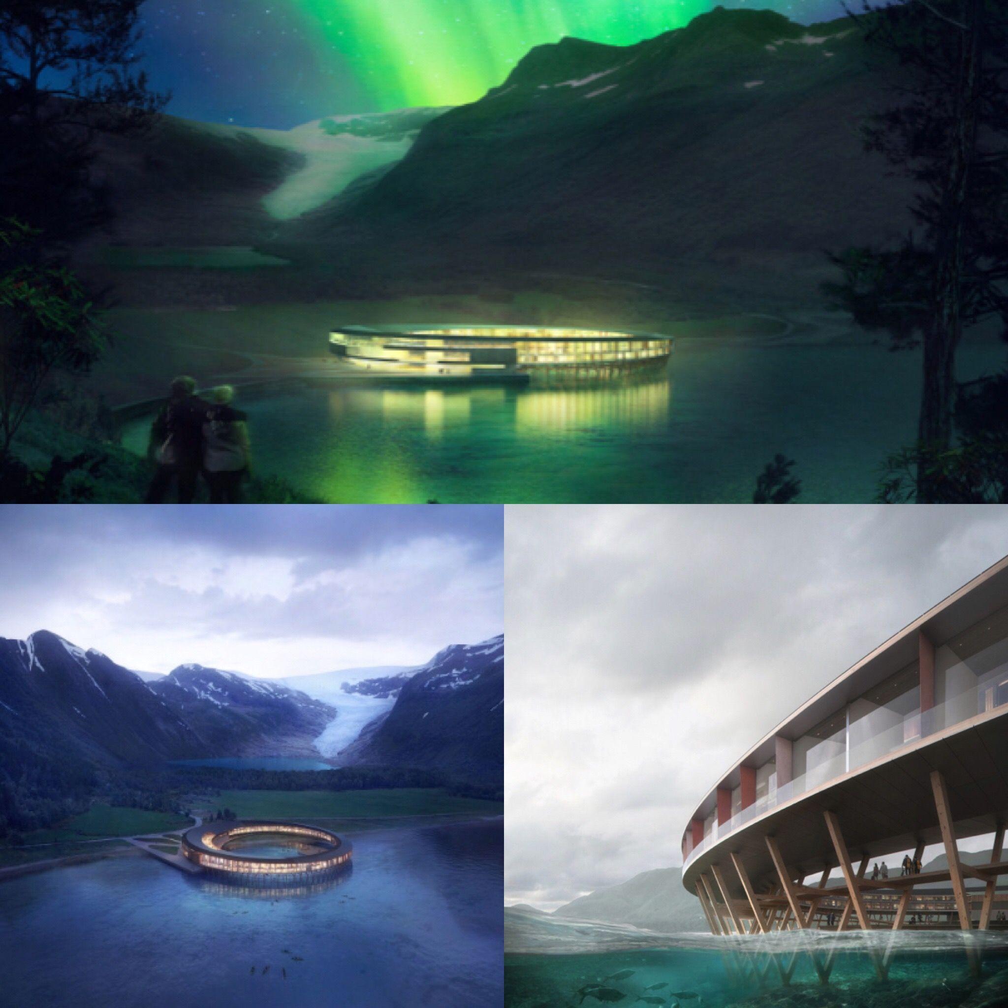 挪威北極圈新體驗:「未來旅館」給你360度極光、冰川全視角衝擊!