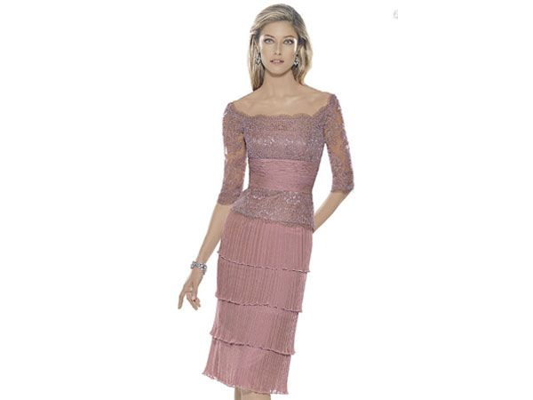 Ideas de vestidos para la mamá de la novia y novio / boda   Vestidos ...