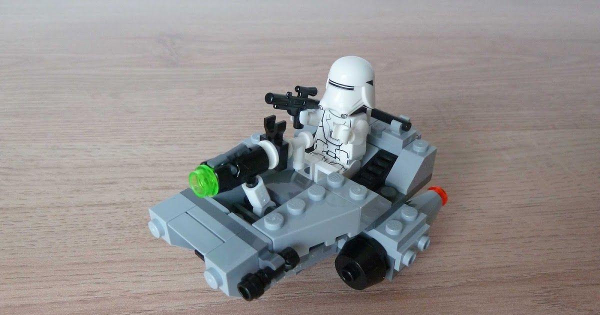 Lego 75126 Lego Star Wars 2016 First Order Snowspeeder Microfighters