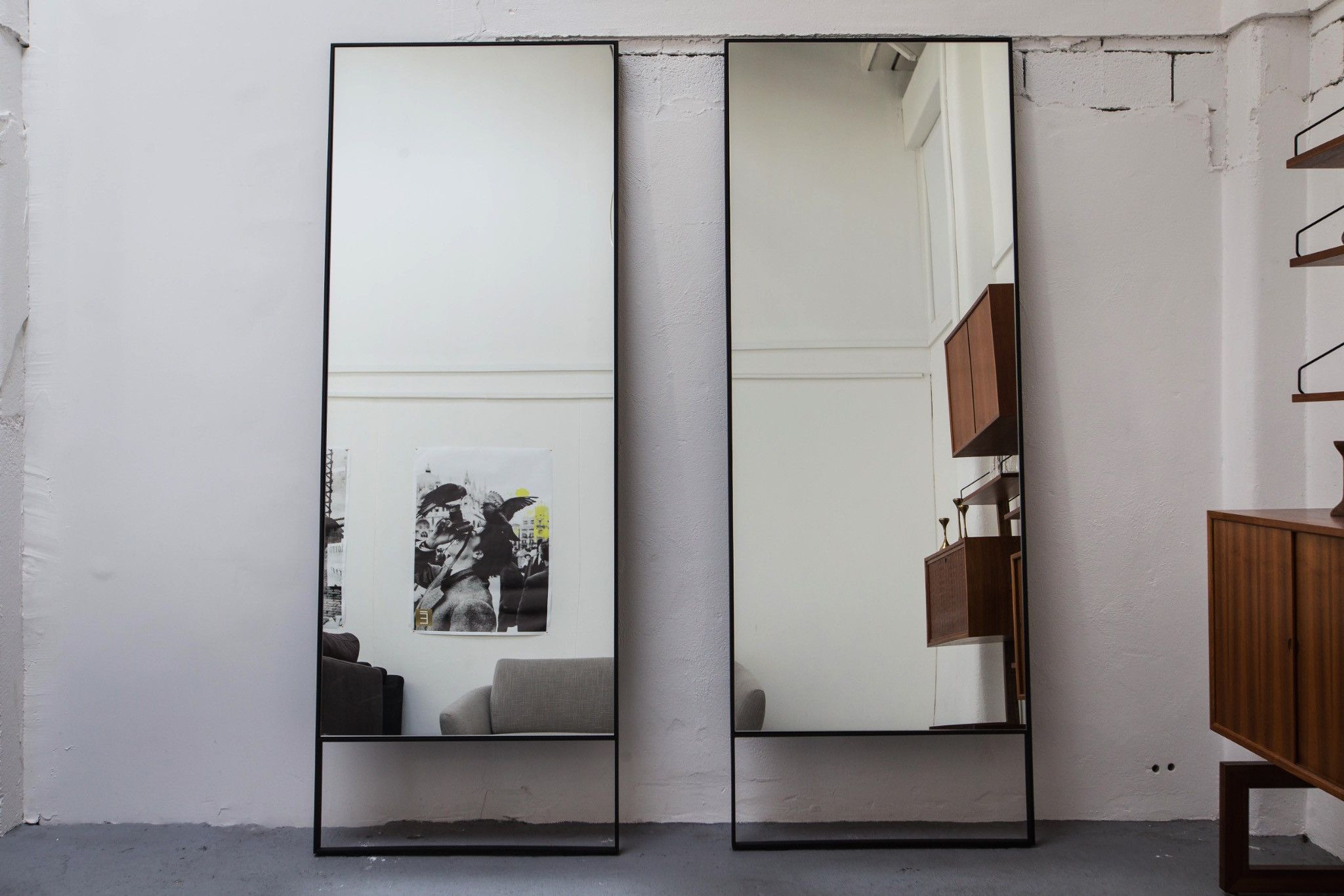 Lange Spiegel Zwart : Camerich bell mirror deco pinterest black mirror long mirror