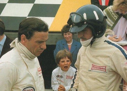 Jim Clark, Damon and Graham Hill