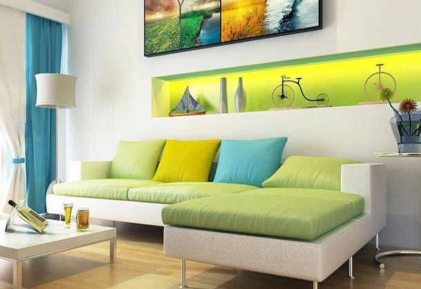 Desain Ruang Tamu Kecil Dan Minimalis
