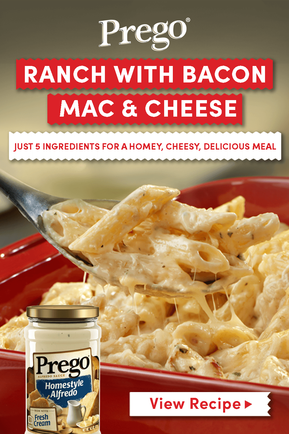 Pin By Prego On Easy Family Dinners Mac And Cheese Bacon Mac And Cheese Recipes
